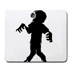 Zombie boogie Large Mouse Pad (Rectangle) by willagher