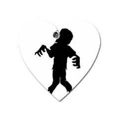 Zombie Boogie Magnet (heart) by willagher
