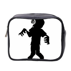 Zombie Boogie Mini Travel Toiletry Bag (two Sides) by willagher