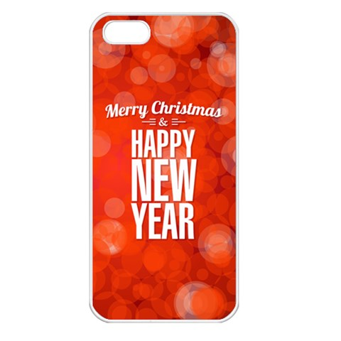 New Year By Divad Brown   Apple Iphone 5 Seamless Case (white)   Gqt1qpkxolkh   Www Artscow Com Front