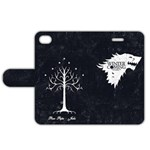 Stark and Gondor - Apple iPhone 4/4S Leather Folio Case
