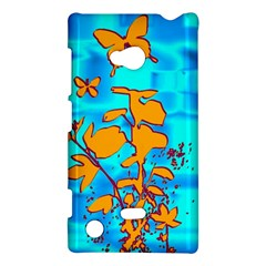 Butterfly Blue Nokia Lumia 720 Hardshell Case by uniquedesignsbycassie