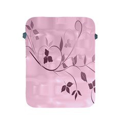 Floral Purple Apple Ipad Protective Sleeve by uniquedesignsbycassie