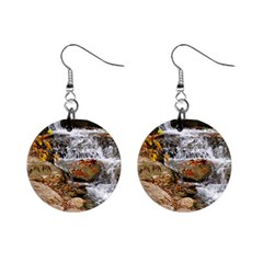 Waterfall Mini Button Earrings by uniquedesignsbycassie