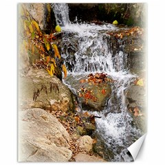 Waterfall Canvas 11  x 14  (Unframed)