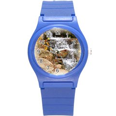 Waterfall Plastic Sport Watch (small) by uniquedesignsbycassie