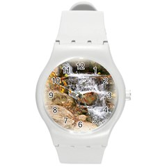 Waterfall Plastic Sport Watch (medium) by uniquedesignsbycassie