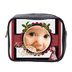 Xmas By Joely   Mini Toiletries Bag (two Sides)   N2nzh7yve3d7   Www Artscow Com Front