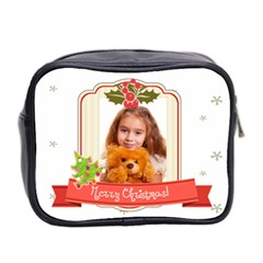 Xmas By Joely   Mini Toiletries Bag (two Sides)   Kwnpsybe2vhu   Www Artscow Com Back