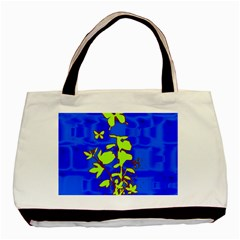Butterfly Blue/green Classic Tote Bag by uniquedesignsbycassie