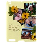 Apple iPad 2 Hardshell- Daisy and love - Apple iPad 2 Hardshell Case (Compatible with Smart Cover)