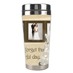 Wedding By Paula Green   Stainless Steel Travel Tumbler   5vcb8uuf3psq   Www Artscow Com Center