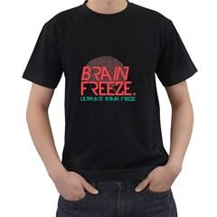Brain Freeze Mens' T Shirt (black) by Contest1701949