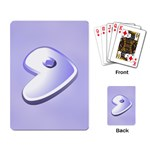 Gentoo cards - Playing Cards Single Design
