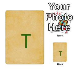 Study Card By Divad Brown   Multi Purpose Cards (rectangle)   Hhec2n4fk5am   Www Artscow Com Back 1