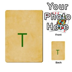 Study Card By Divad Brown   Multi Purpose Cards (rectangle)   Hhec2n4fk5am   Www Artscow Com Back 13