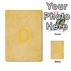 Study Card By Divad Brown   Multi Purpose Cards (rectangle)   Hhec2n4fk5am   Www Artscow Com Back 19