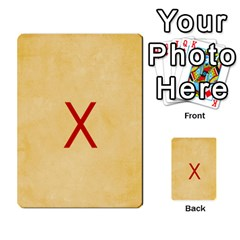 Study Card By Divad Brown   Multi Purpose Cards (rectangle)   Hhec2n4fk5am   Www Artscow Com Back 3