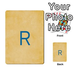 Study Card By Divad Brown   Multi Purpose Cards (rectangle)   Hhec2n4fk5am   Www Artscow Com Back 5
