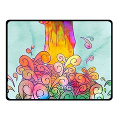 Waterfall Fleece Blanket (small) by Contest1767514