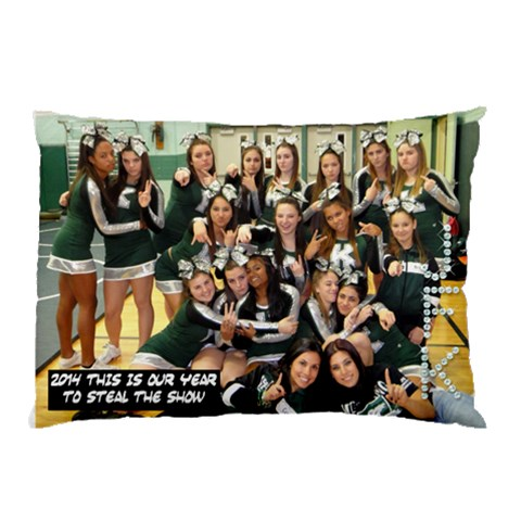 2014 Cheer Pillow Case By Nancy   Pillow Case   D8ekylswk1bw   Www Artscow Com 26.62 x18.9 Pillow Case