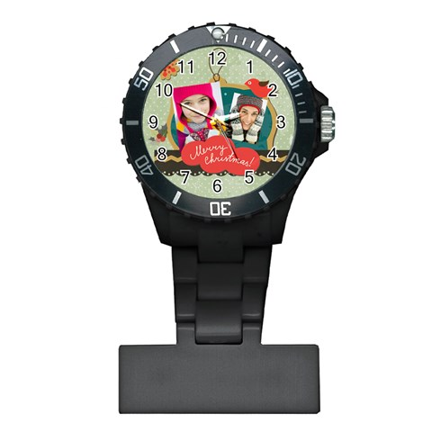 Merry Christmas By Merry Christmas   Plastic Nurses Watch   Olyki4dcp6ie   Www Artscow Com Front