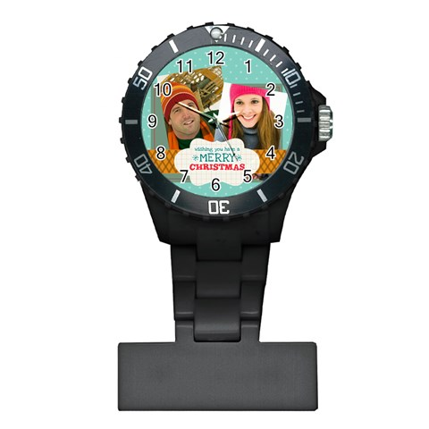 Merry Christmas By Merry Christmas   Plastic Nurses Watch   Z900ql3o96me   Www Artscow Com Front