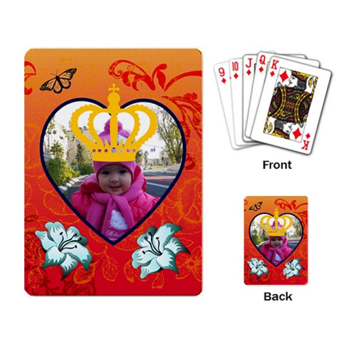 Project #8 By Denis   Playing Cards Single Design   Nt9j380usm12   Www Artscow Com Back