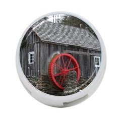 Vermont Christmas Barn 4 Port Usb Hub (two Sides) by plainandsimple