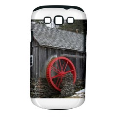 Vermont Christmas Barn Samsung Galaxy S III Classic Hardshell Case (PC+Silicone)