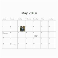 2014 Calendar By Sherry Shaffer   Wall Calendar 11  X 8 5  (12 Months)   Ofm80m5pojbe   Www Artscow Com May 2014