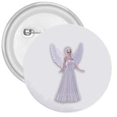 Beautiful Fairy Nymph Faerie Fairytale 3  Button by goldenjackal