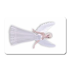 Beautiful Fairy Nymph Faerie Fairytale Magnet (rectangular) by goldenjackal