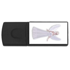 Beautiful Fairy Nymph Faerie Fairytale 4gb Usb Flash Drive (rectangle) by goldenjackal