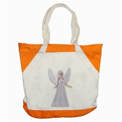 Beautiful Fairy Nymph Faerie Fairytale Accent Tote Bag by goldenjackal