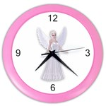 Beautiful fairy nymph faerie fairytale Wall Clock (Color)