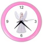 Beautiful fairy nymph faerie fairytale Wall Clock (Color)
