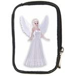 Beautiful fairy nymph faerie fairytale Compact Camera Leather Case