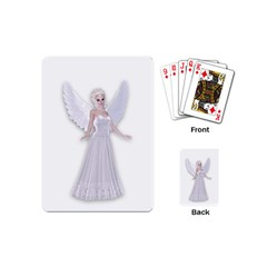 Beautiful Fairy Nymph Faerie Fairytale Playing Cards (mini) by goldenjackal