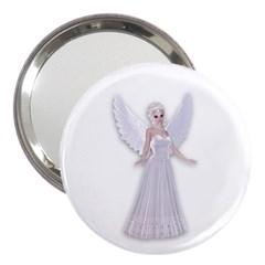 Beautiful Fairy Nymph Faerie Fairytale 3  Handbag Mirror by goldenjackal