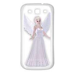 Beautiful Fairy Nymph Faerie Fairytale Samsung Galaxy S3 Back Case (white) by goldenjackal