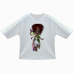 Fairy Magic Faerie In A Dress Baby T Shirt by goldenjackal