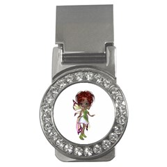 Fairy Magic Faerie In A Dress Money Clip (cz) by goldenjackal
