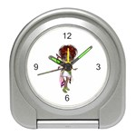 Fairy magic faerie in a dress Desk Alarm Clock