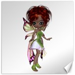 Fairy magic faerie in a dress Canvas 12  x 12  (Unframed)