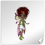 Fairy magic faerie in a dress Canvas 16  x 16  (Unframed)
