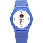 Fairy magic faerie in a dress Plastic Sport Watch (Small)