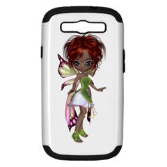 Fairy Magic Faerie In A Dress Samsung Galaxy S Iii Hardshell Case (pc+silicone) by goldenjackal