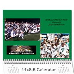 Tailgating Calendar2 By Sposten Hotmail Com   Wall Calendar 11  X 8 5  (12 Months)   Qp2ovcqbie32   Www Artscow Com Cover
