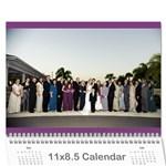 manny - Wall Calendar 11  x 8.5  (12-Months)